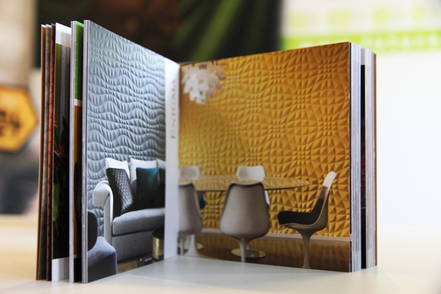 Arte Wallcoverings Spring 2016 Catalogus grafisch ontwerp door Future Graphics Hasselt