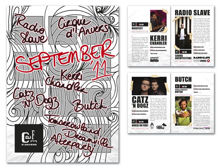 Café d'Anvers MINIMAG september layout