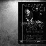 Paradise Café d'Anvers affiche Laurent Garnier