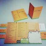 Botanique naamkaartjes, placemat en drankenkaart Hasselt