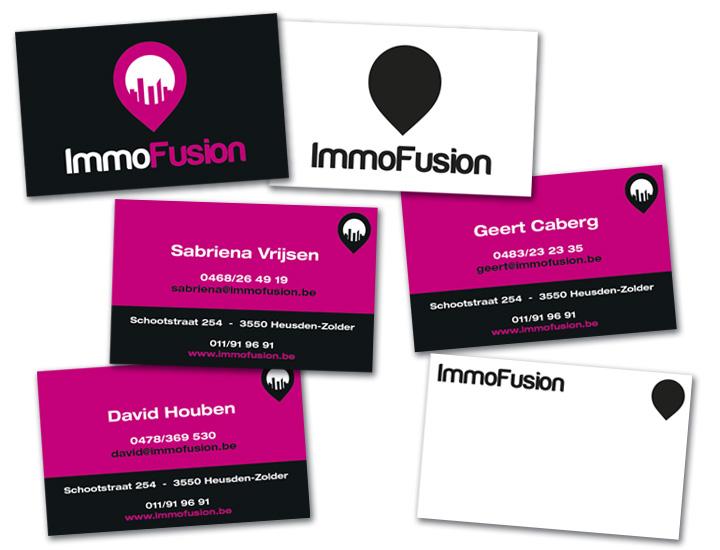 ImmoFusion naamkaartje