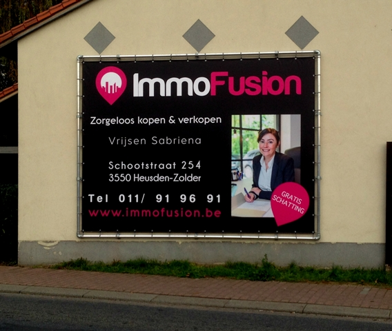 ImmoFusion spandoek
