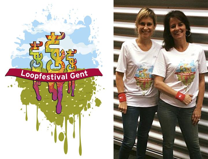 Stad Gent Loopfestival campagne T-shirts