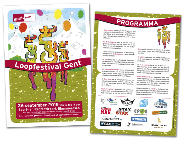 Stad Gent Loopfestival campagne