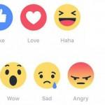 """nieuwe """"vind-ik-leuk""""-knoppen op Facebook"""