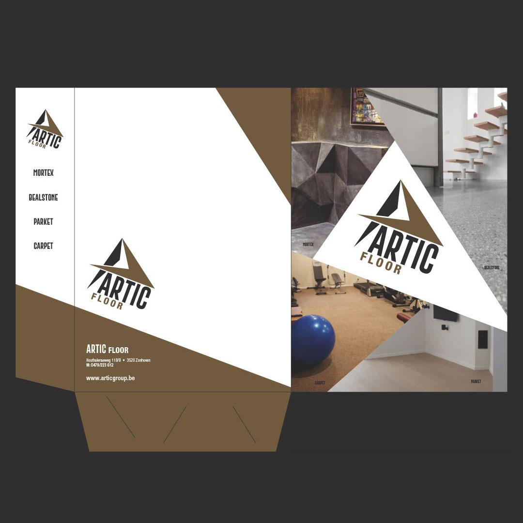 Artic - presentatiemap