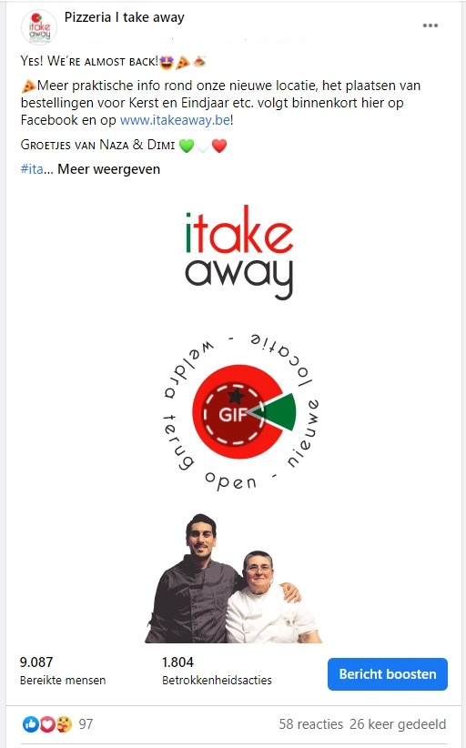 I take away Zonhoven - animatie Facebook campagne (1)
