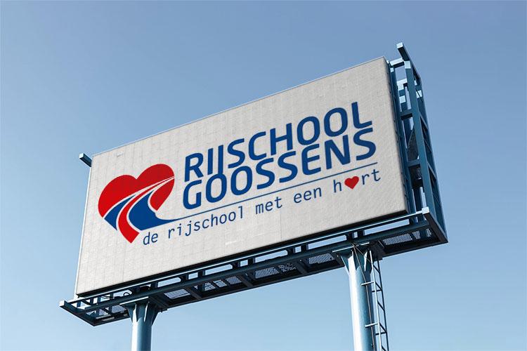 Rijschool Goossens logo presentatie