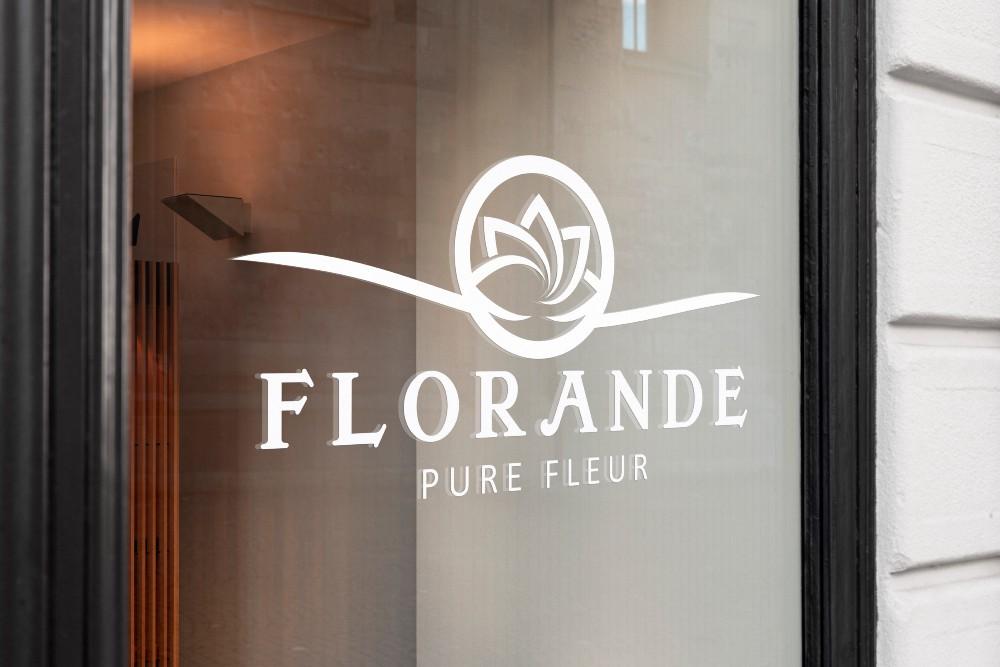 presentatie logo Florande Pure Fleur