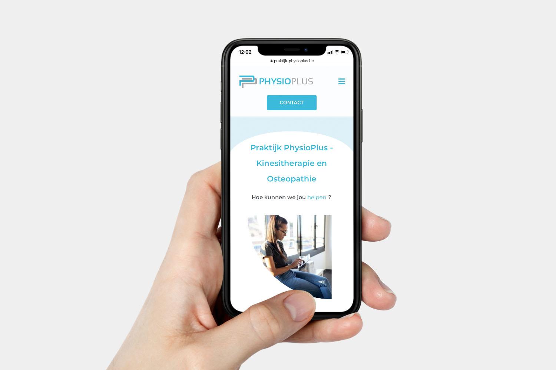 PhysioPlus - website - mobielvriendelijk