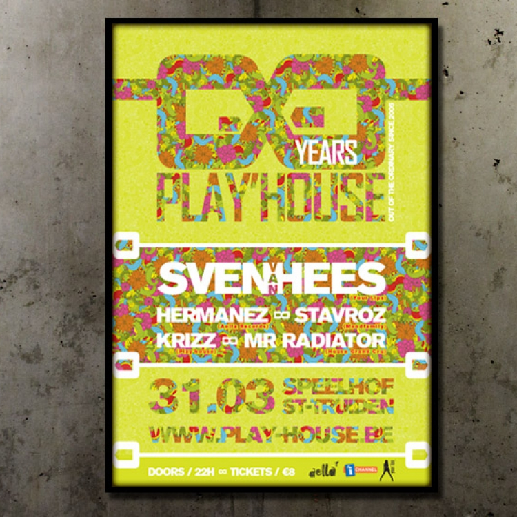 8 jaar Play'house affiche