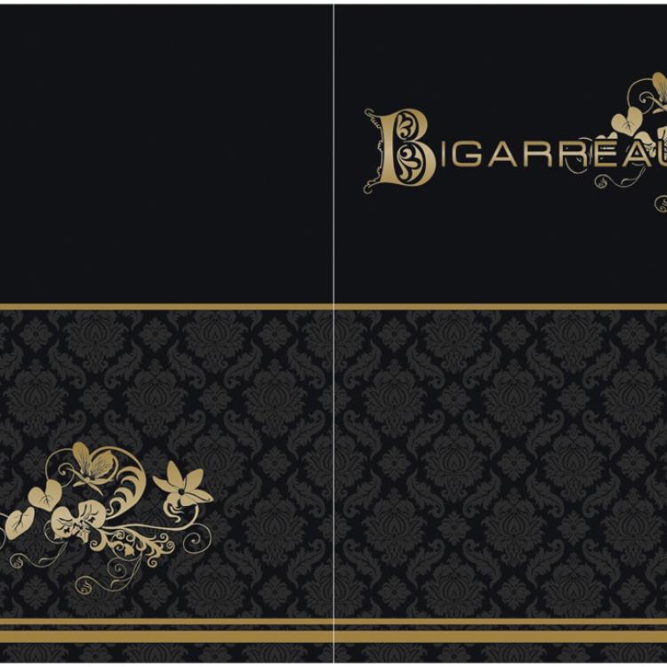 Bigarreaux-menukaart