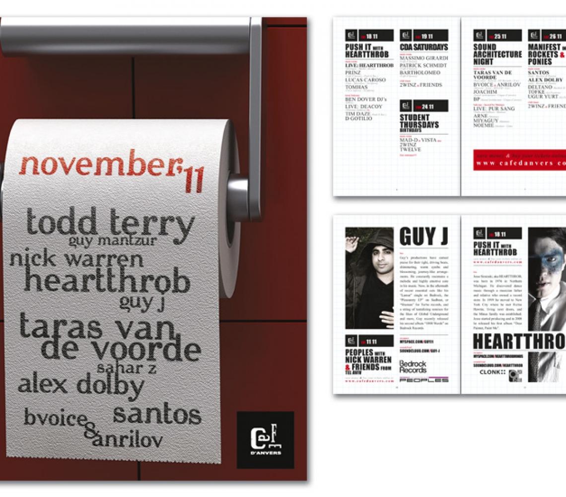 Café d'Anvers MINIMAG november