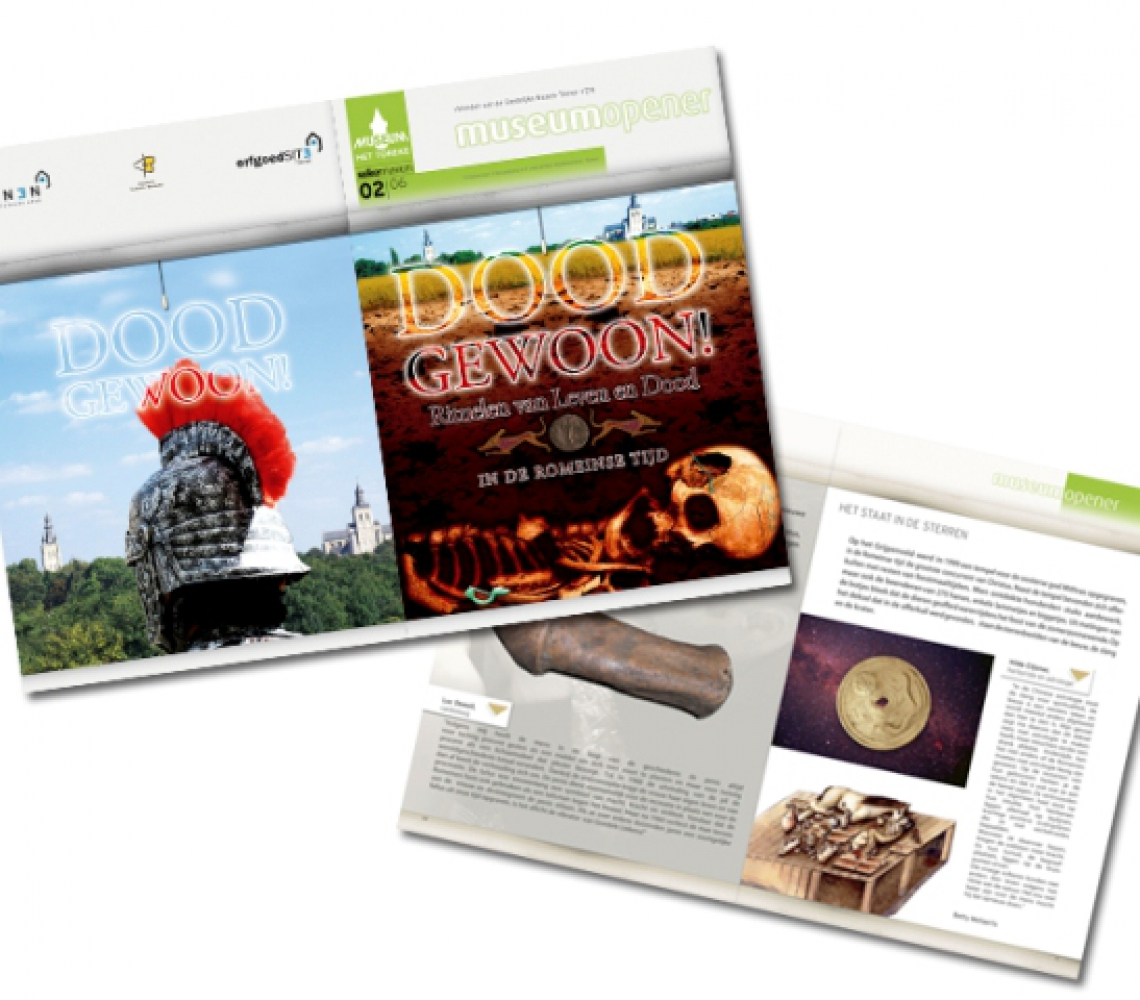 Doodgewoon museum opener magazine