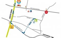 Bereikbaarheid tijdens wegenwerken vanaf 14.09.2020