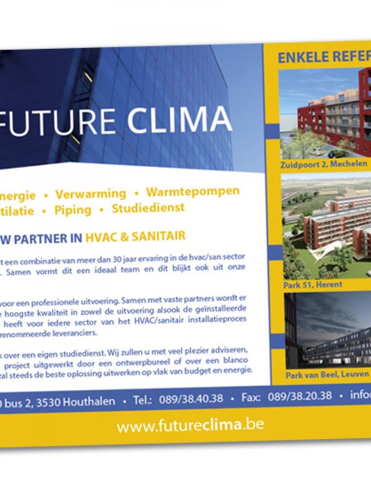 Future Clima Advertentie magazine