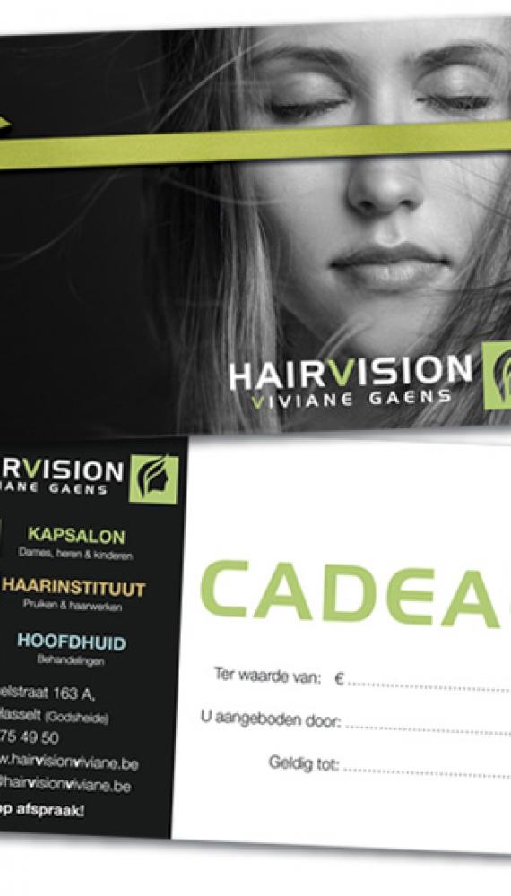 Hairvision Viviane Gaens cadeaubon