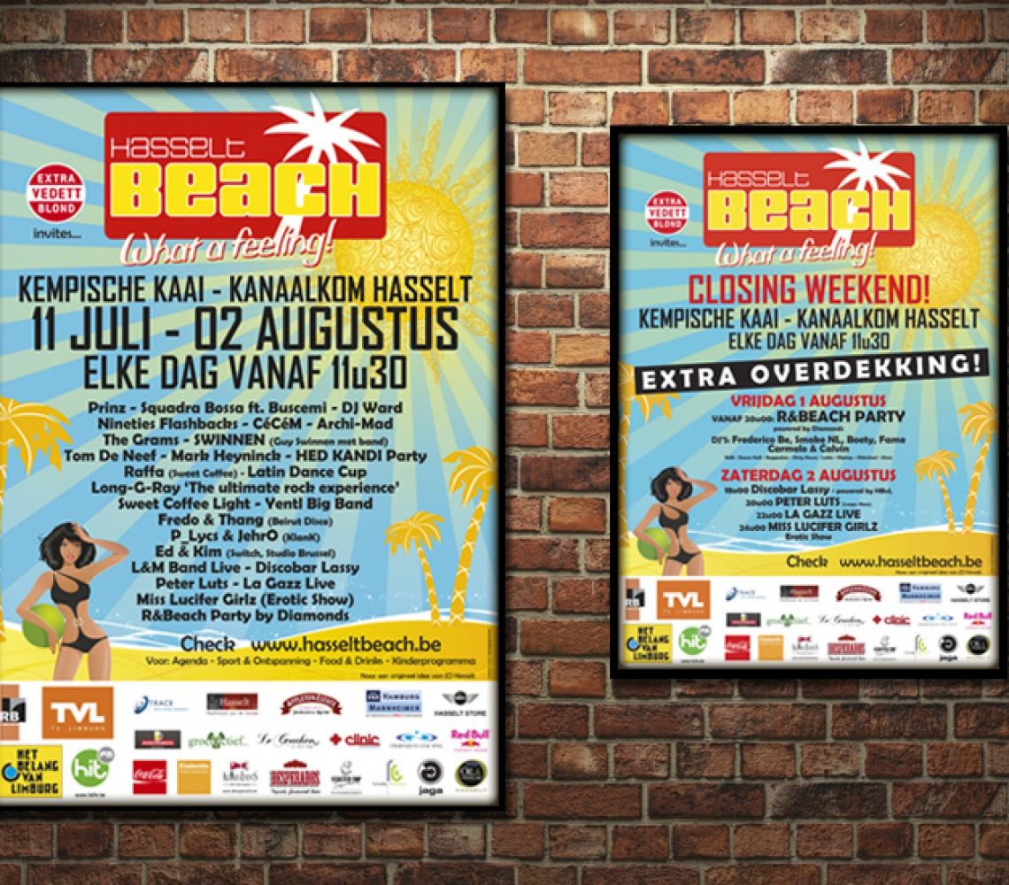 HasseltBeach Affiches