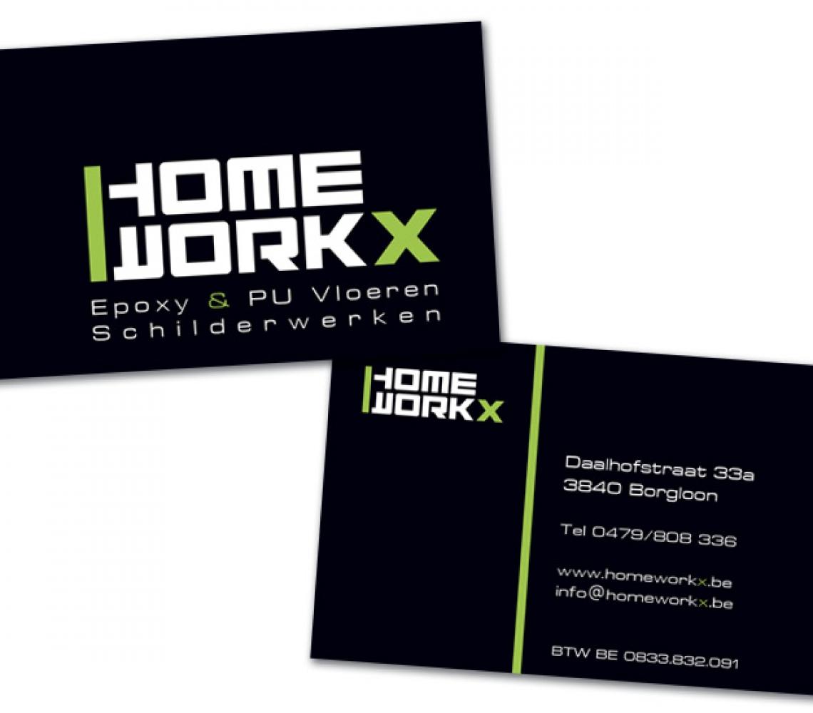 Home Workx naamkaartje