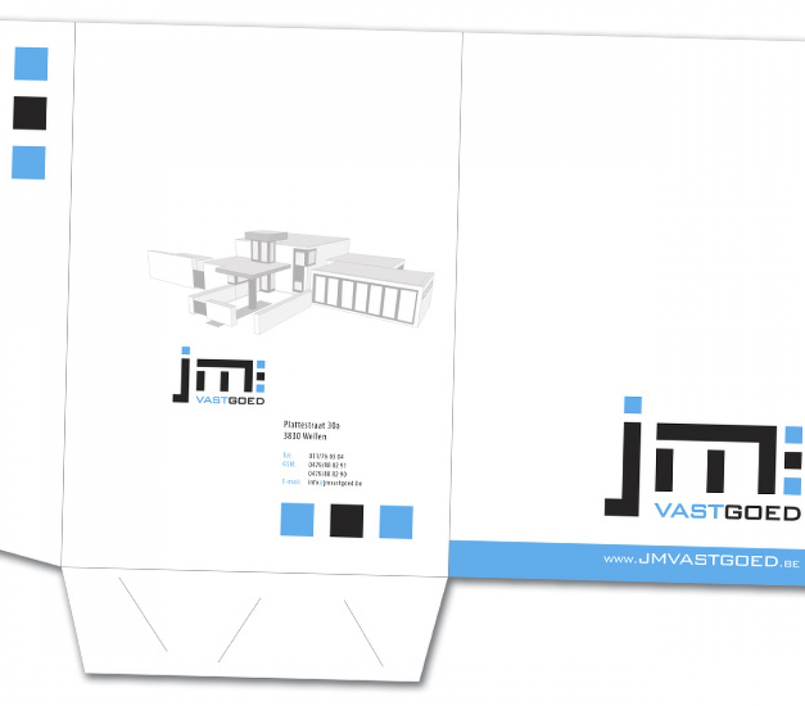 JM Vastgoed A4 presentatiemap