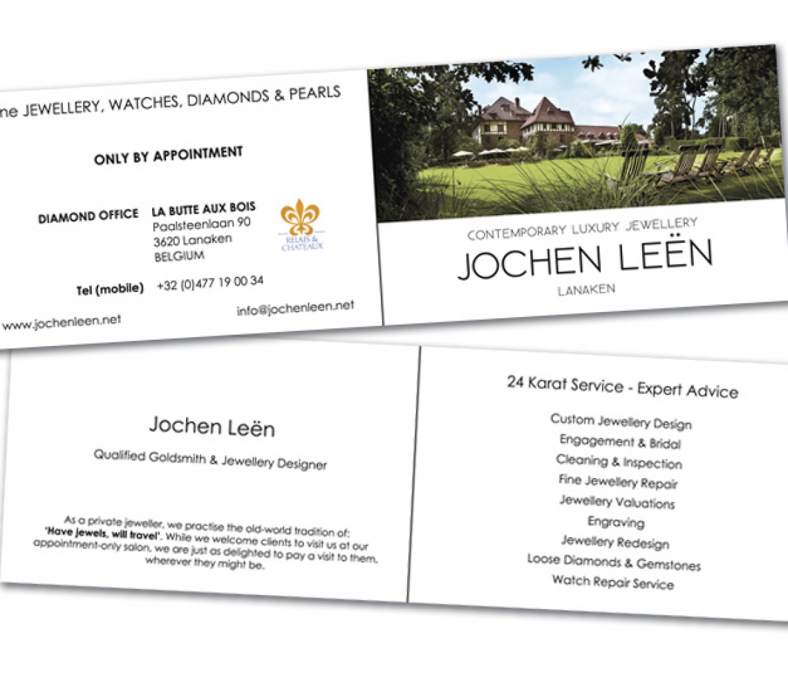 Jochen Leën Naamkaartje