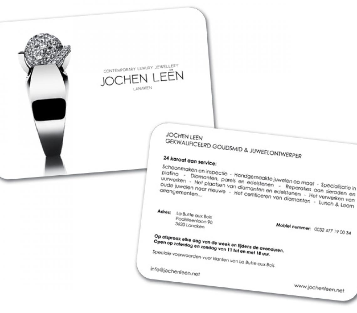 Jochen Leën postkaart