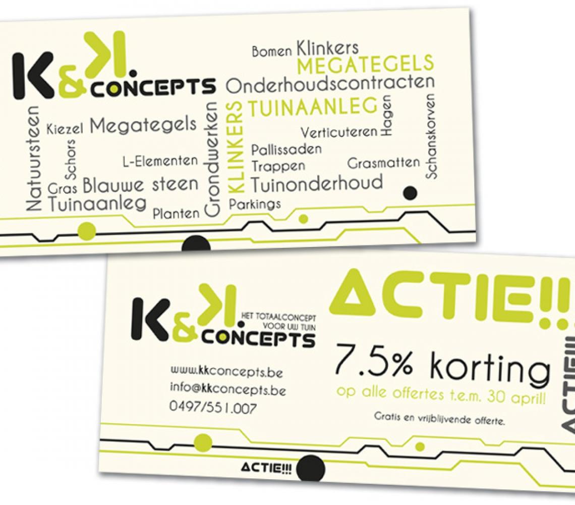 K&K Concepts US flyer