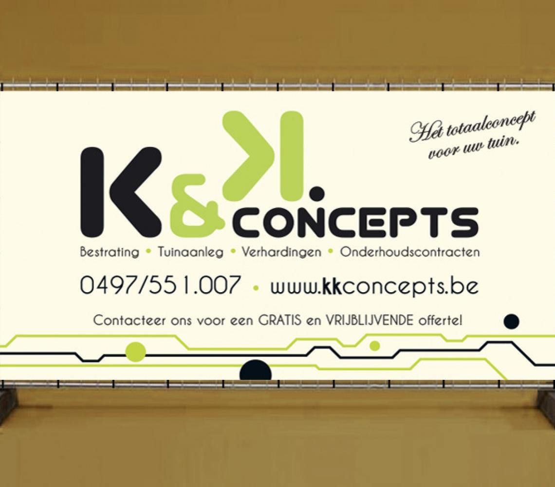 K&K Concepts werfdoek