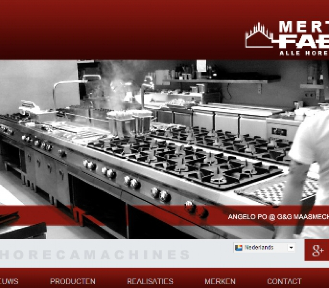 Mertens Faema website