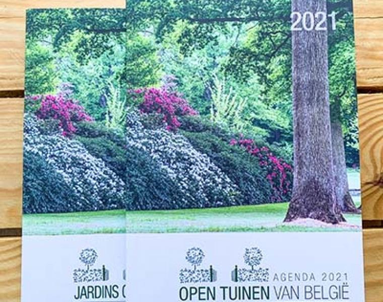 Open Tuinen 2021 brochure