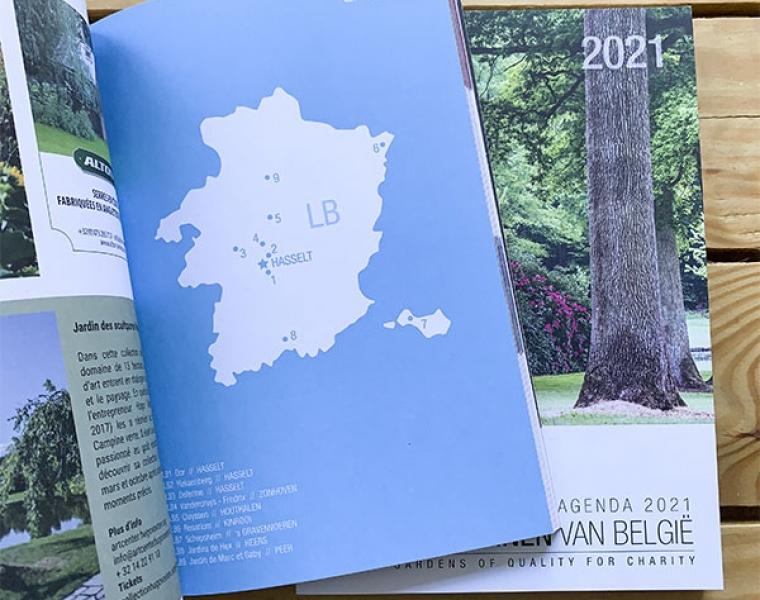 Open Tuinen 2021 - brochure grafisch ontwerp en print