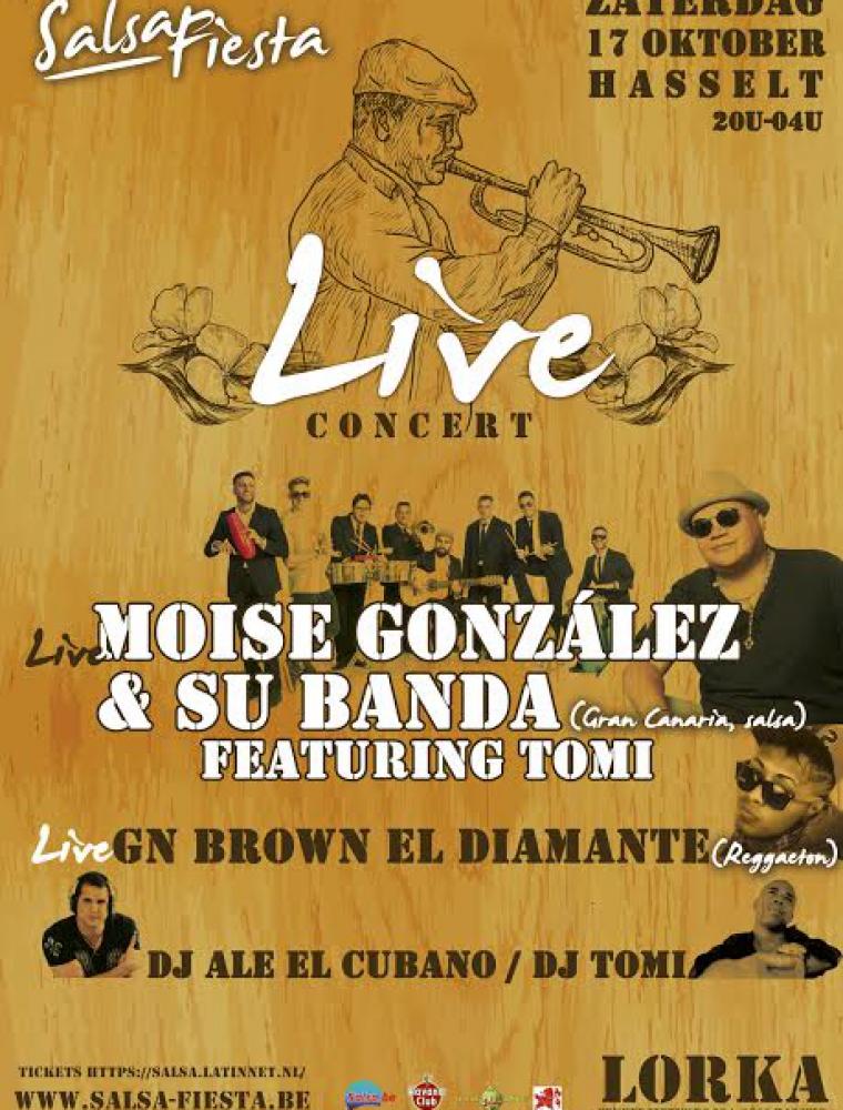 Salsa Fiesta affiche Live Concert @ Lorka