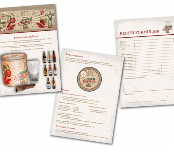 Schuimend Limburg presentatie A4 formaat, voor mailing