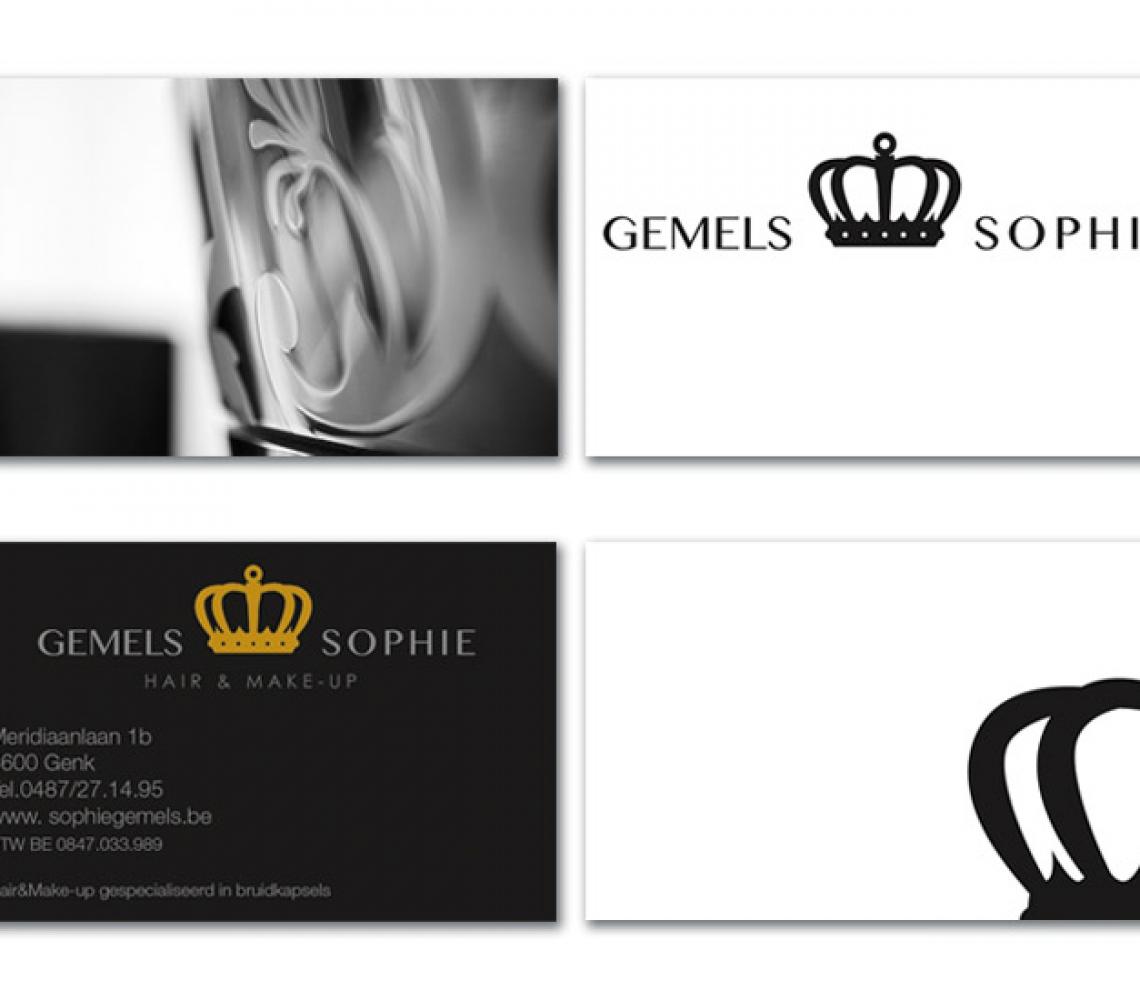 Sophie Gemels A7 formaat, met spotlak