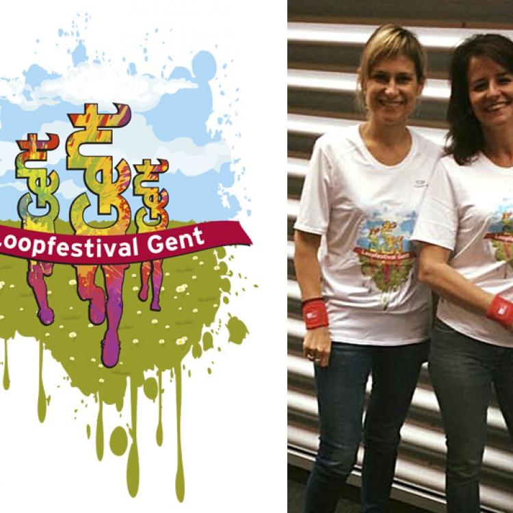 Stad Gent - Loopfestival campagne - T-shirt design