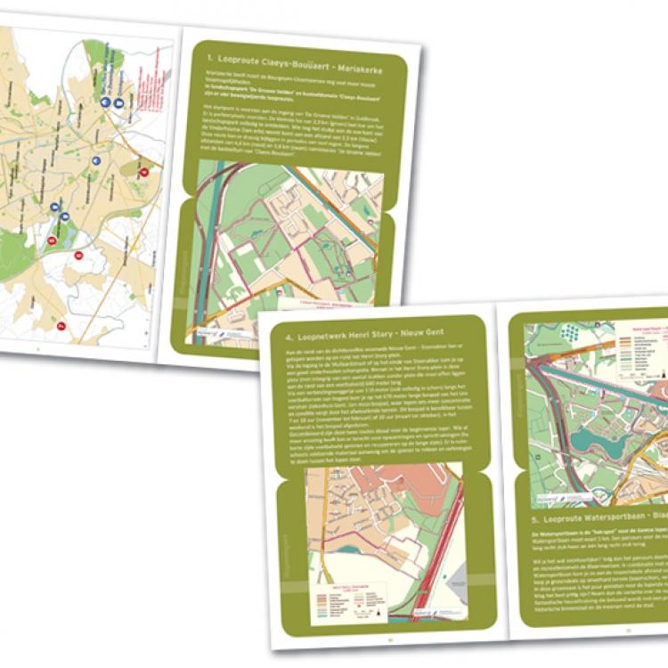 Stad Gent - LopenInGent campagne - A5 brochure inhoud (2)