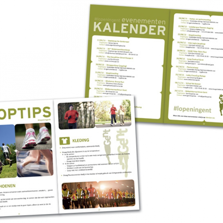Stad Gent - LopenInGent campagne - A5 brochure inhoud (3)