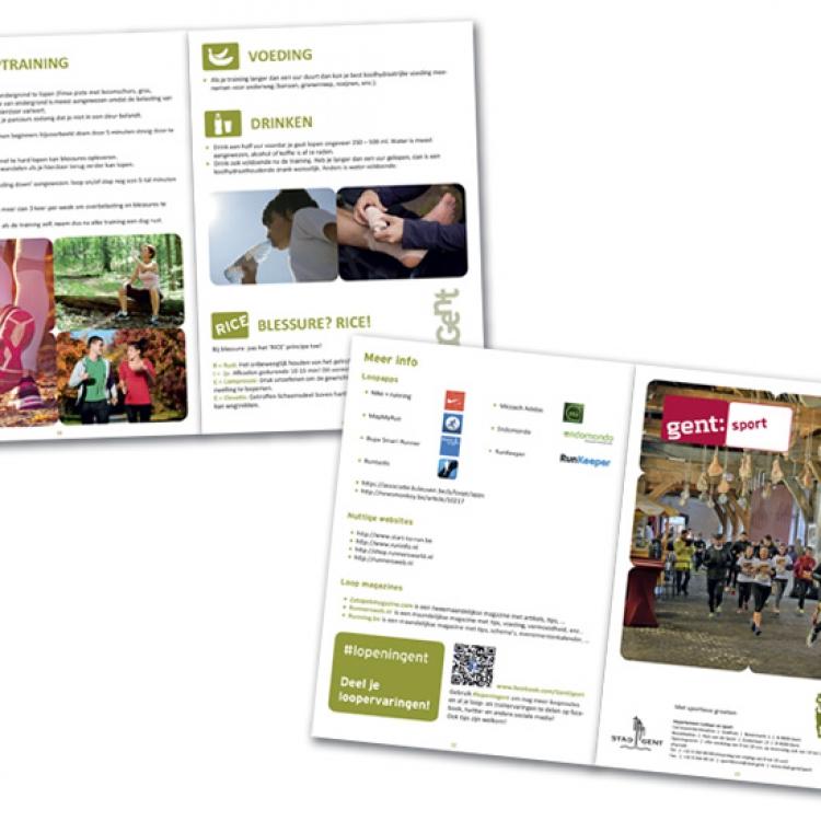 Stad Gent - LopenInGent campagne - A5 brochure inhoud (4)