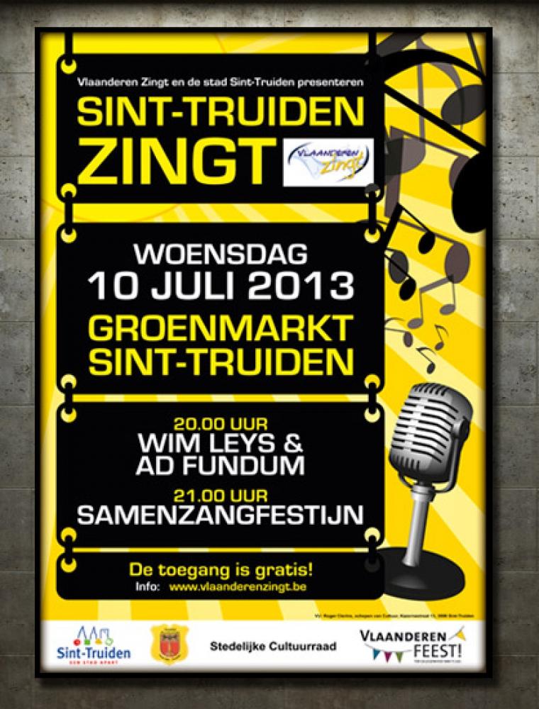 Stad Sint-Truiden affiche eventaankondiging A2 formaat (2)