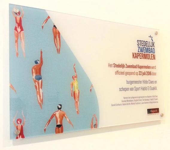 Stedelijk zwembad Kapermolen-Hasselt
