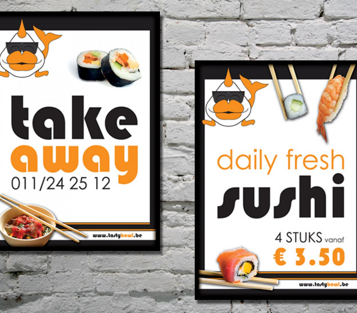 Tasty Bowl Affiches A1 formaat