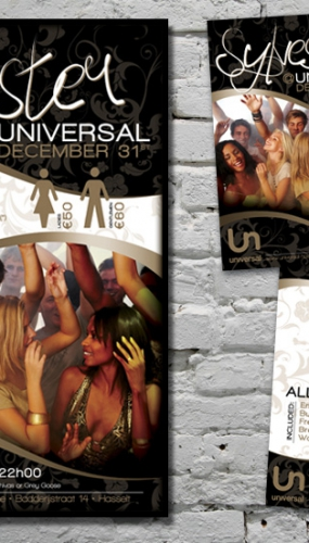 Universal Affiche en A6 flyer