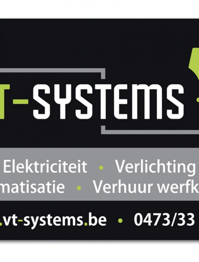 VT Systems B2 werfbord kanaalplaat