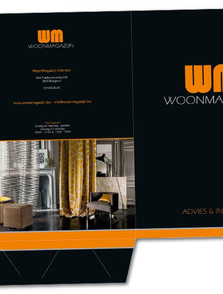 WM woonmagazijn A4 presentatiemap