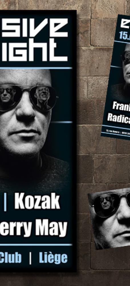Zolex Affiche, A6 flyer en FB banner eventaankondiging