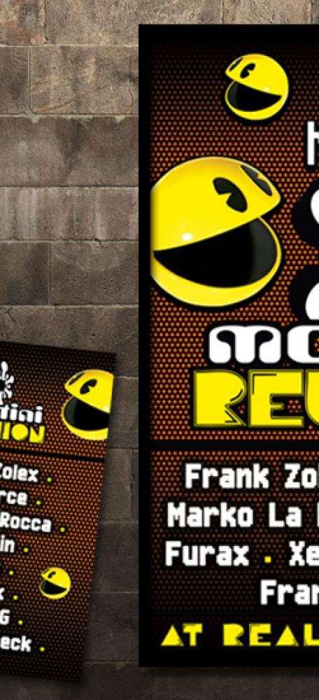 Zolex Montini Reunion Affiche en A6 flyer eventaankondiging (3)