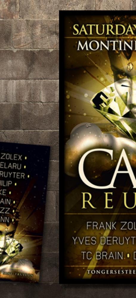 Zolex Carat Reunion  Affiche en A6 flyer eventaankondiging (4)