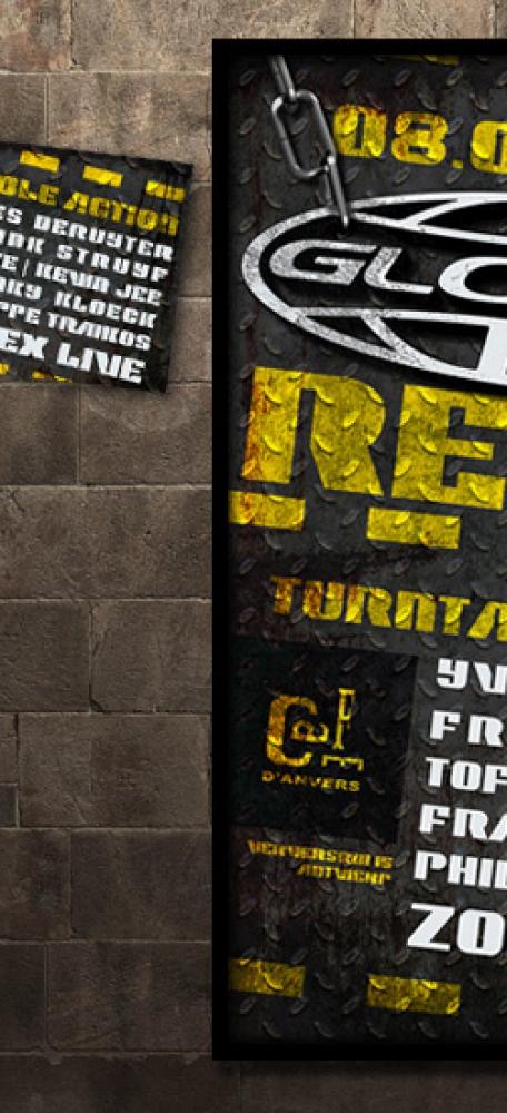 Zolex Globe Reunion Affiche  en FB banner eventaankondiging