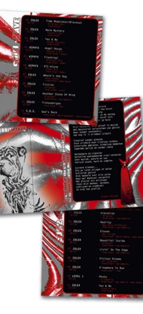 Zolex CD Inlageboekje inhoud