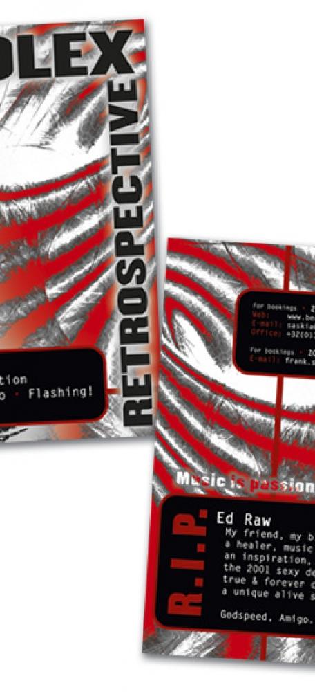 Zolex Retrospective CD Inlageboekje kaft voorkant en achterkant